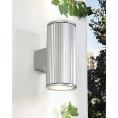 Leds-C4 Lighting Temis Grey Outdoor Up Down Wall Light product image
