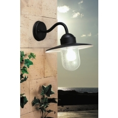 Leds-C4 Lighting Triton Black Outdoor Wall Light product image
