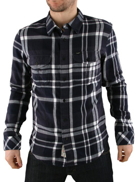Lee Indigo Slim Builder Check Shirt product image