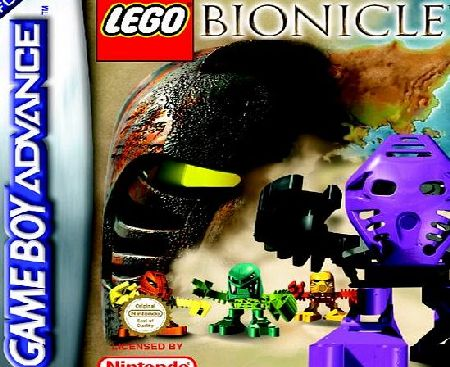 Lego Bionicle Quest for the Toa GBA product image