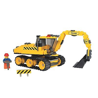 LEGO City 7248: Digger Building Toy - review, compare ...