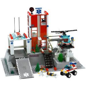 lego city hospital 7892 instructions