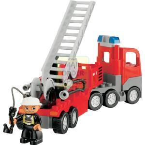 lego duplo fire truck 4977 instructions