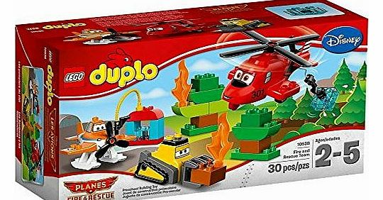 10538 Duplo - Fire and rescue team - CLICK FOR MORE INFORMATION
