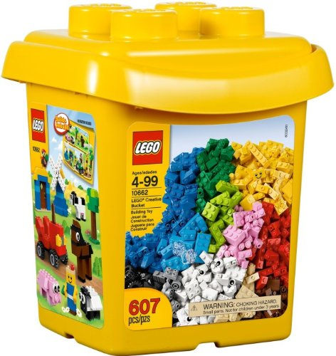 10662 Bricks & More Creative Bucket 607 Pieces - CLICK FOR MORE INFORMATION