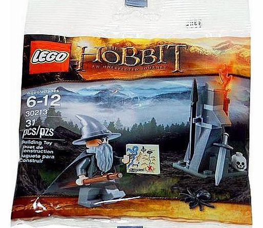 30213 The Hobbit Gandalf Minifigure - CLICK FOR MORE INFORMATION