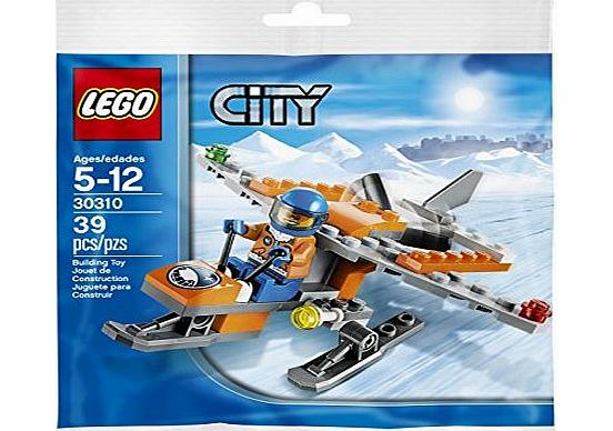 30310 City - Arctic mini airplane - CLICK FOR MORE INFORMATION