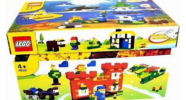 4630 Bricks & More - Build & Play Box - 1000 pieces - CLICK FOR MORE INFORMATION