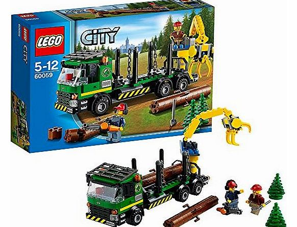 60059 City - Logging Truck - CLICK FOR MORE INFORMATION