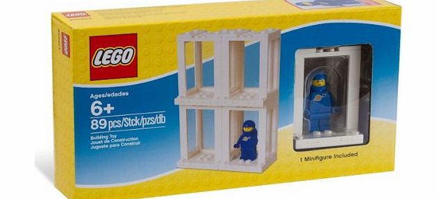 850423 Minifigure Display Presentation Case Box + 1 Bonus Blue Space Minifigure - CLICK FOR MORE INFORMATION