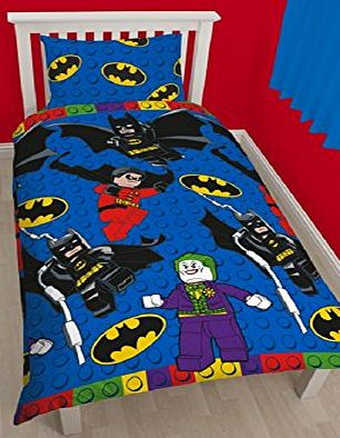 Batman Single Duvet Set - Reversible Design Blue - CLICK FOR MORE INFORMATION
