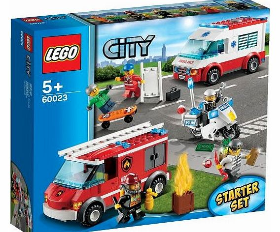 City Emergency Vehicle Starter Set - 60023 - CLICK FOR MORE INFORMATION