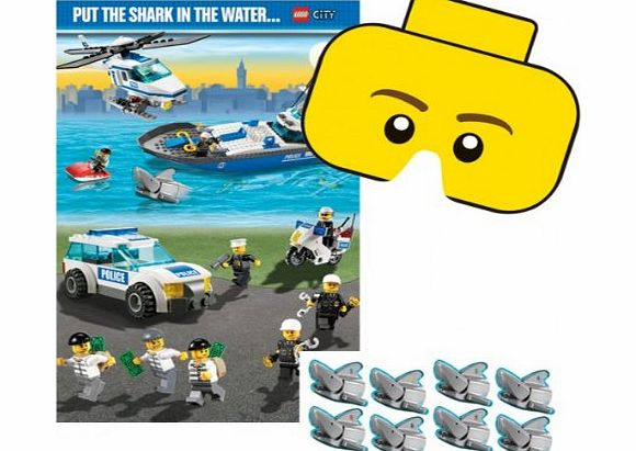 City Party - Lego Pin Party Game - CLICK FOR MORE INFORMATION
