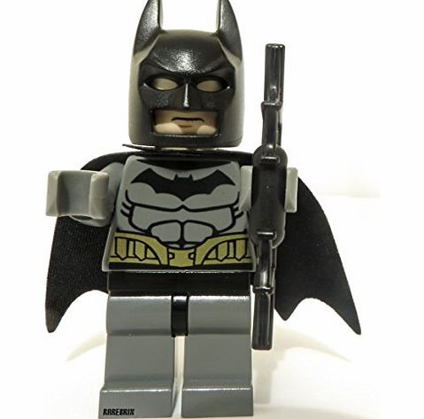 Dark Grey Batman Minifigure - Split from set 76012 - CLICK FOR MORE INFORMATION