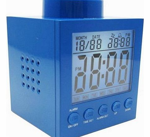 Digital Blue Alarm Clock - CLICK FOR MORE INFORMATION