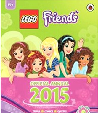 Friends Official Annual 2015 * Packed with activities and games, puzzles, comics, quizzes and stories featuring Heartlake City characters * Published by Ladybird * Printed in Poland * For Girls A - CLICK FOR MORE INFORMATION