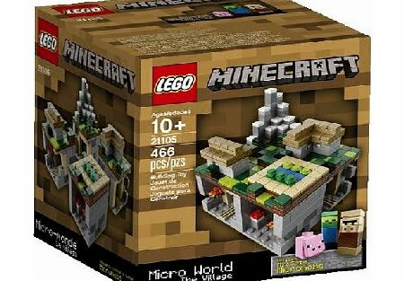 Minecraft Micro World Micro Village 21105 - CLICK FOR MORE INFORMATION