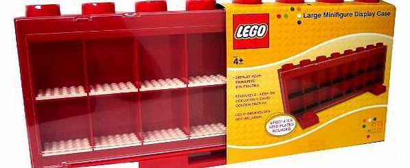 Mini Figure Display Case (Red) - CLICK FOR MORE INFORMATION
