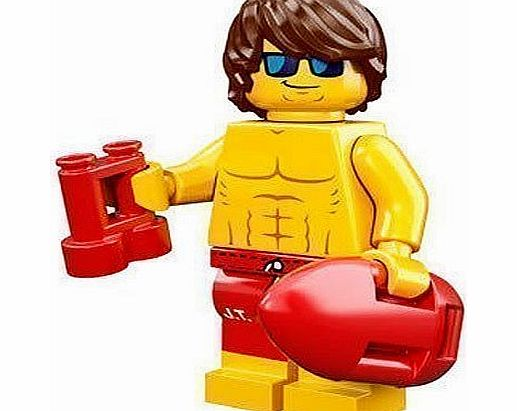 Minifigure - Series 12 - Lifeguard Guy - 71007 - CLICK FOR MORE INFORMATION