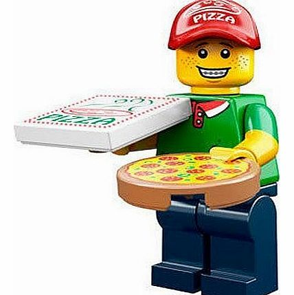 Minifigure - Series 12 - Pizza Deliver Man - 71007 - CLICK FOR MORE INFORMATION