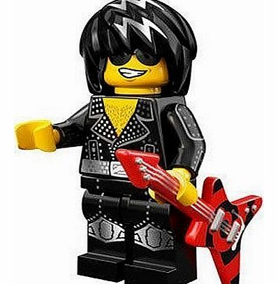 Minifigure - Series 12 - Rock Star - 71007 - CLICK FOR MORE INFORMATION