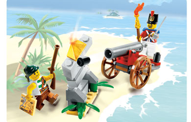 lego Pirates - Cannon Battle 6239 product image