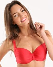 Lepel, 1295[^]244691 Holiday Sparkle Padded Bikini Top - Coral