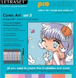 Letraset Comic Art Set 3 product image