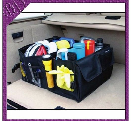 lets go 1 Car Boot Tidy Bag Organiser Storage Multi-use Tools auto kit box product image