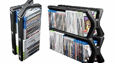 Level Up Stealth Game , DVD , Blu-ray Storage Tower Ideal For Xbox , Playstation