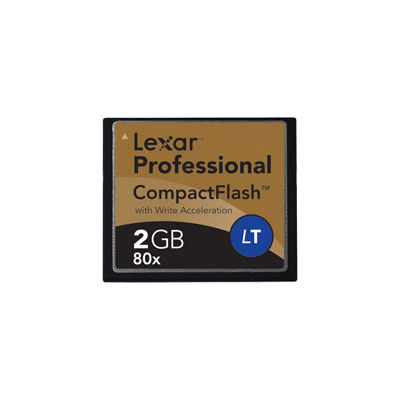 Lexar 2GB 80X Professional LockTight Compact product image