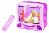 Barbie Tv/Dvd Player 14` Screen