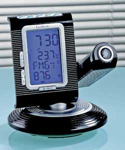 Lexibook Projection Radio Controlled Thermo Clock