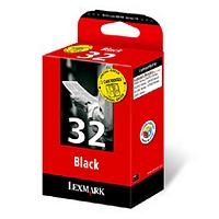 Lexmark Twin-Pack No 32 Black Print Cartridge product image