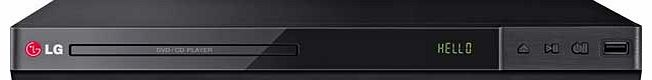LG DP432 DVD Player with HD Upscaling