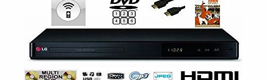 LG Electronics MULTIREGION LG DP542H UPDCALING TO NEAR 1080P HD DVD PLAYER . PLAYS DVDS IN ALL REGIONS 1 2 3 4 5 6 FROM AROUND THE WORLD - MULTI FORMAT (CD Audio, DivX playback, CD-R / CD-RW, DVD-R / DVD-RW, DVD R /