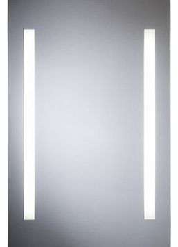 LUXURY & QUALITY Wall Mounted Apollo-Space Fluoroscent Illuminated Lamp Bathroom Mirror Lighting IP44 [700mm (h) x 450mm (w)]