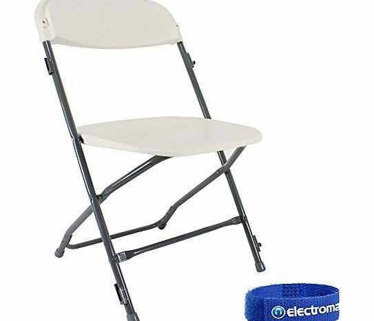 Lifetime Almond Steel Foldable Chair Folding Portable