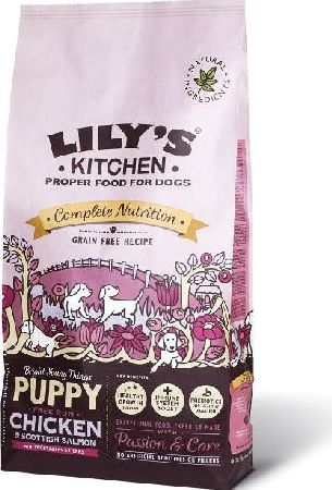 Lily`s Kitchen, 2102[^]0138635 Perfectly Puppy Grain Free Dry Food