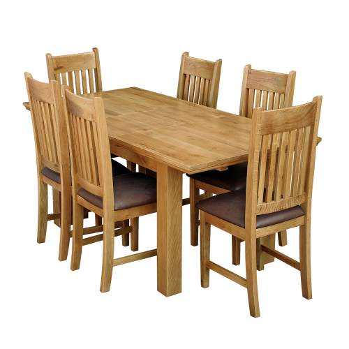 Dining table oak lincoln