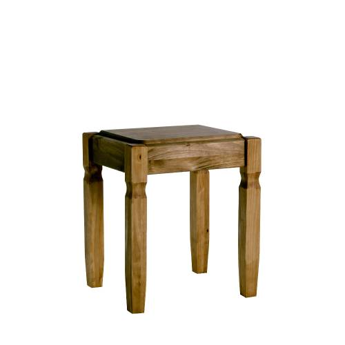 Pine Bedroom Stool