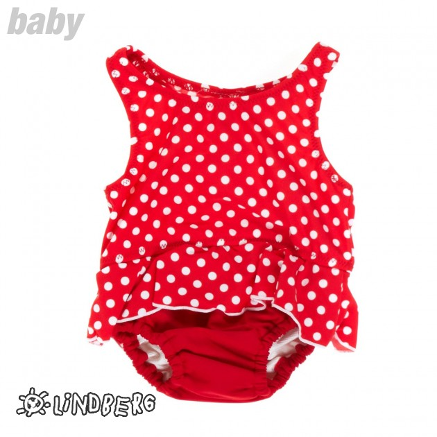 Lindberg Girls Lindberg Torrent Diaper Swimsuit - Polka product image