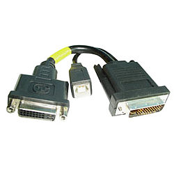 Lindy DVI to M1-DA Adapter Cable by Lindy product image