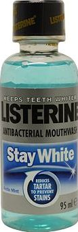 Listerine, 2041[^]10085299 Stay White Mouthwash 95ml 10085299