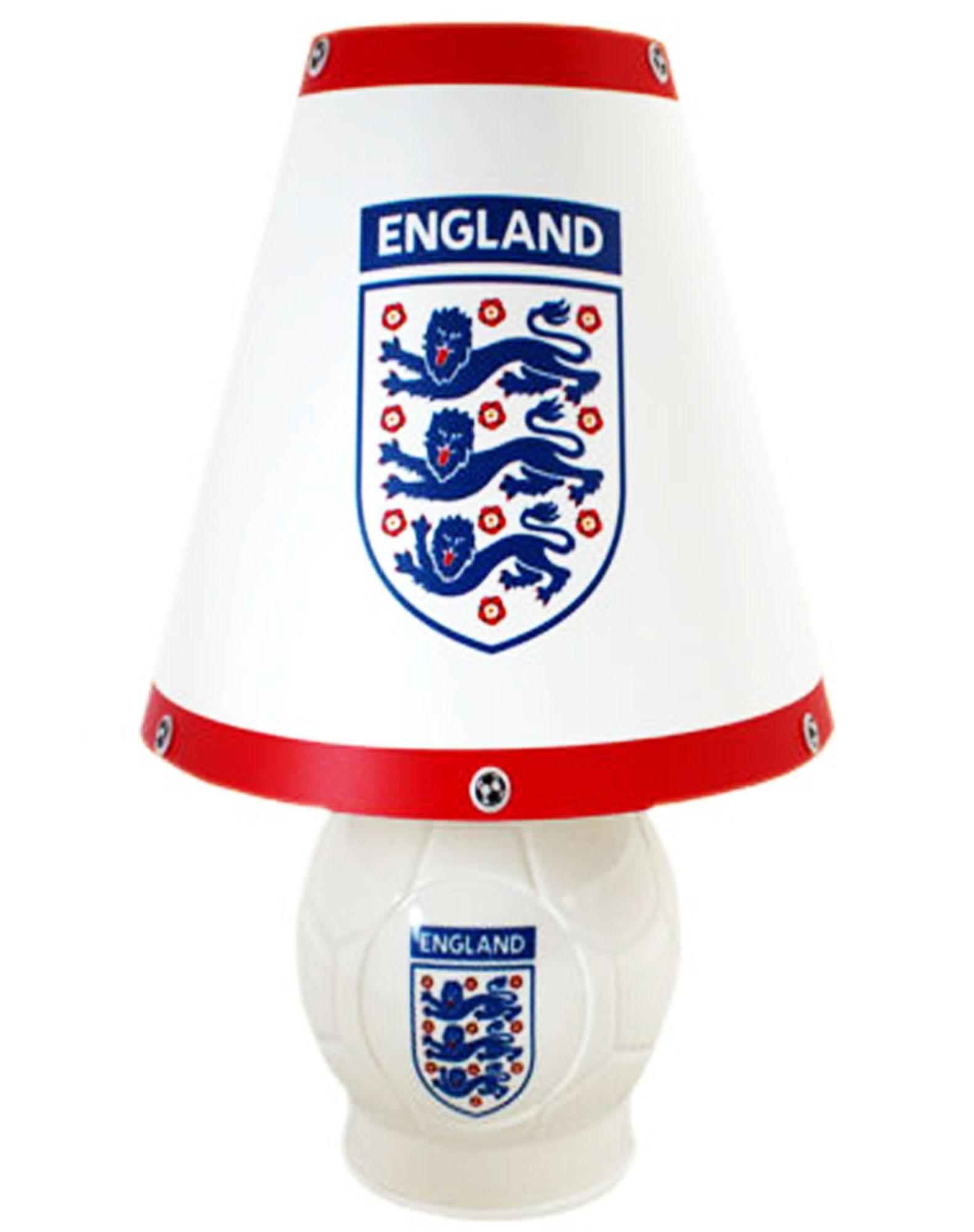 Football table lamp for English football tables