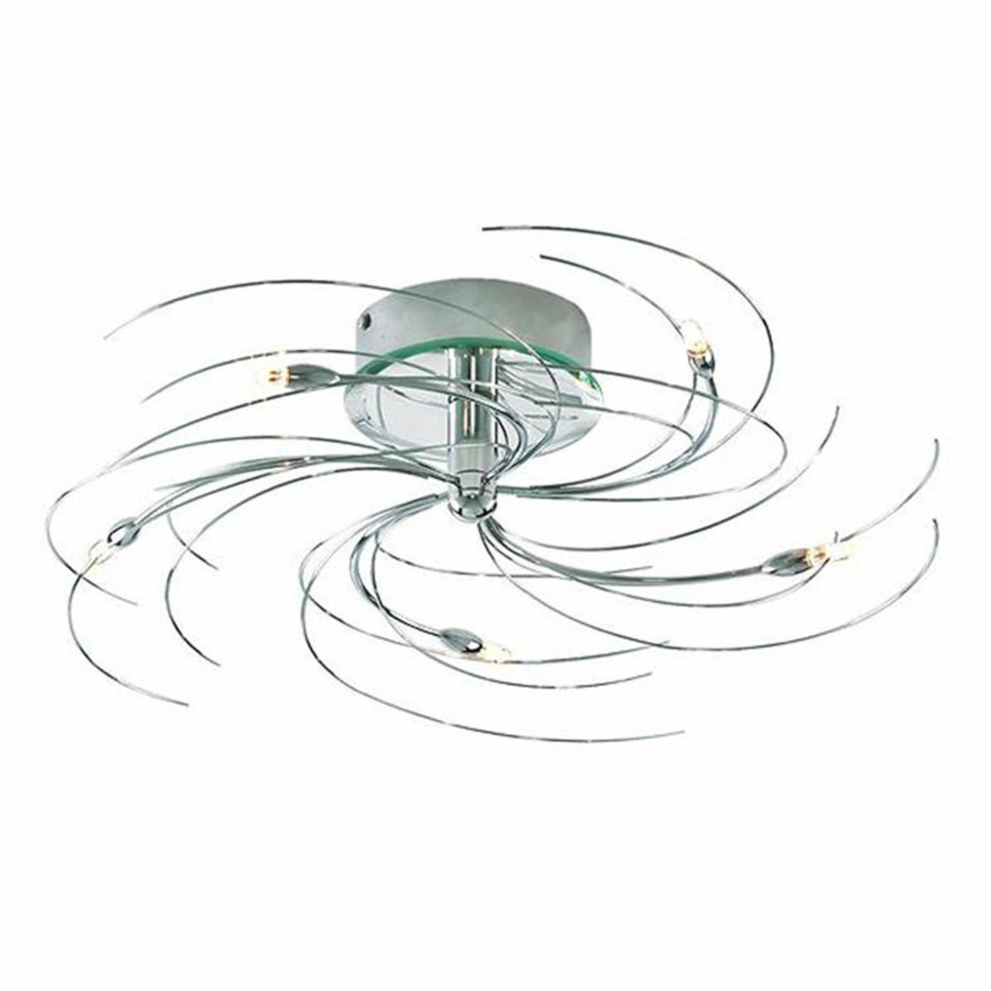 Spiral Chrome Wall Lights : spiral ceiling lights