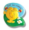 Little Miss Sunshine cabinet knob, supplied complete with fixing suitable for use on 10mm to 20mm th - CLICK FOR MORE INFORMATION