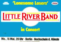 BAND Lonesome Lovers Music Poster