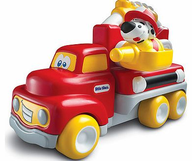 Join the fire brigade for a ride in the Little Tikes Handle Haulers Deluxe Fire Vehicle.With its soft and chunky handle and free-moving wheels, this fire engine vehicle is great for little firefighters aged 12 to 36 months.Pop the dalmation figure in - CLICK FOR MORE INFORMATION