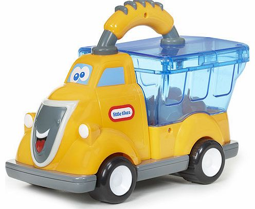 Push Billy Boulder along and watch this Little Tikes Vehicle pop! Billyandrsquo;s a Pop Hauler so is filled with bouncing pieces that move about when heandrsquo;s pushed along. Heandrsquo;s also got a big, chunky handle which is easy for little ones  - CLICK FOR MORE INFORMATION